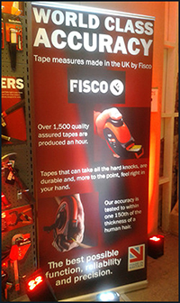 Fisco Banner at Snickers NGT Launch